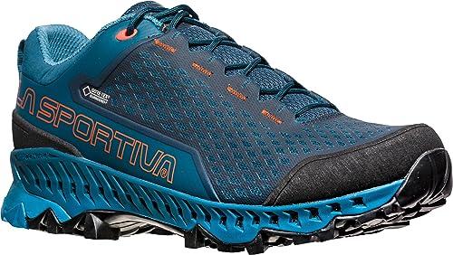 La Sportiva Spire GTX Ocean/Tangerine, Zapatillas de Senderismo Unisex Adulto: Amazon.es: Zapatos y complementos