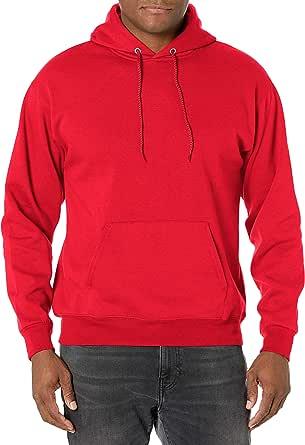 Hanes Men's Pullover EcoSmart Fleece Hooded Sweatshirt