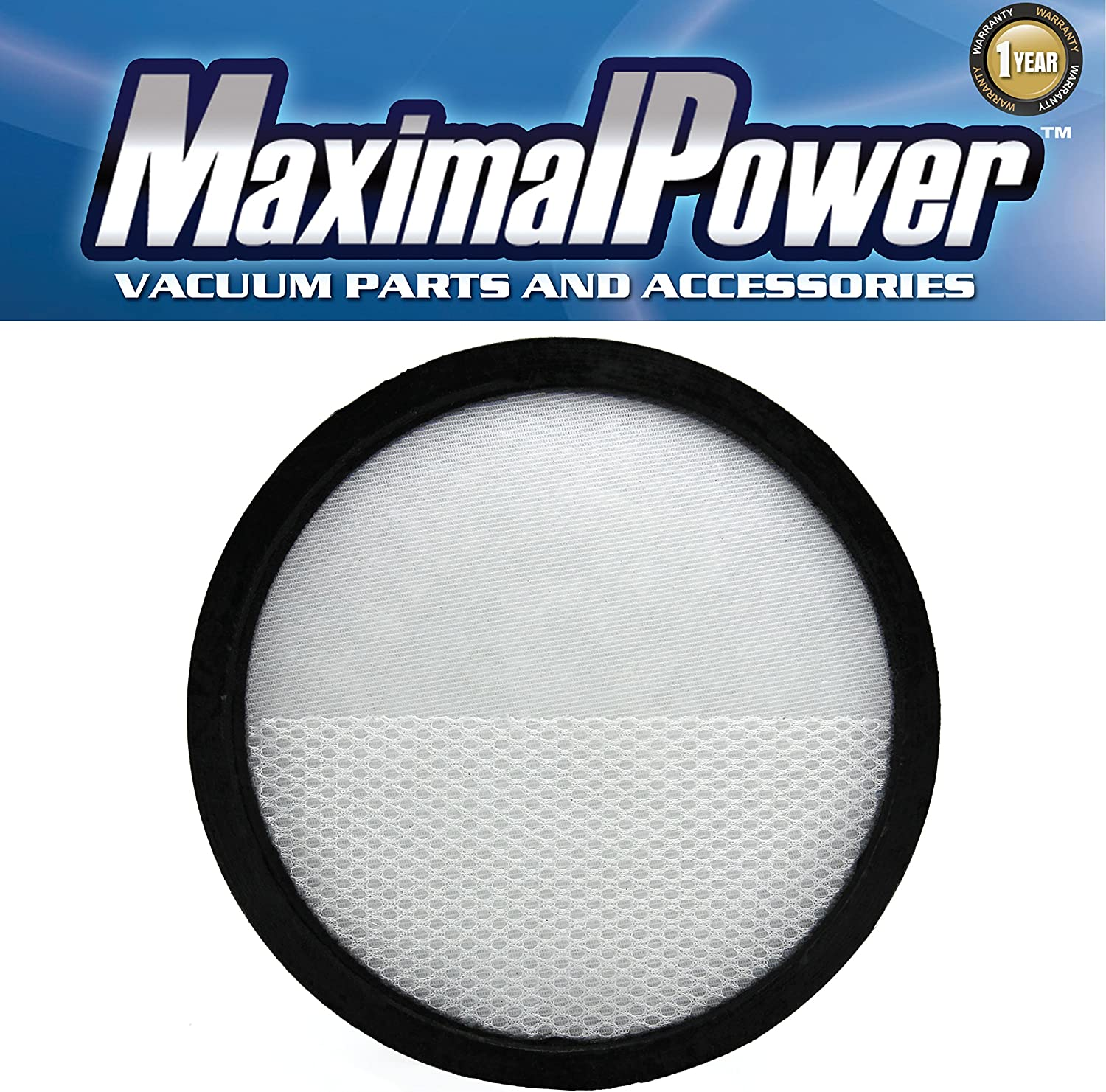 MaximalPower Primary Filter for Hoover WindTunnel Air Model UH70400 & UH72400 Part # 303903001 Washable and Reusable
