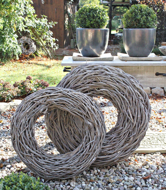 Luxus Gartendeko Weiden Ideen