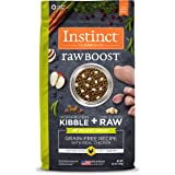 Nature's Variety Instinct Raw Boost Grain Free Recipe Natural Dry Dog Food Healthy Weight Chicken