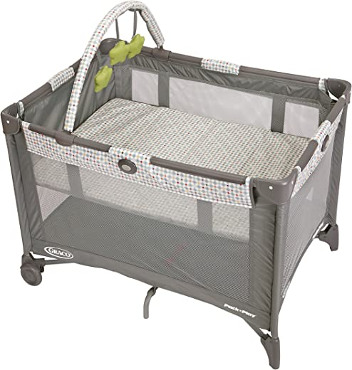 Graco Pack 'n Play On the Go Playard | Includes Full-Size Infant...