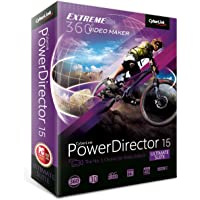 Cyberlink PowerDirector v.15.0 Ultimate Suite, Box Pack, 1 User