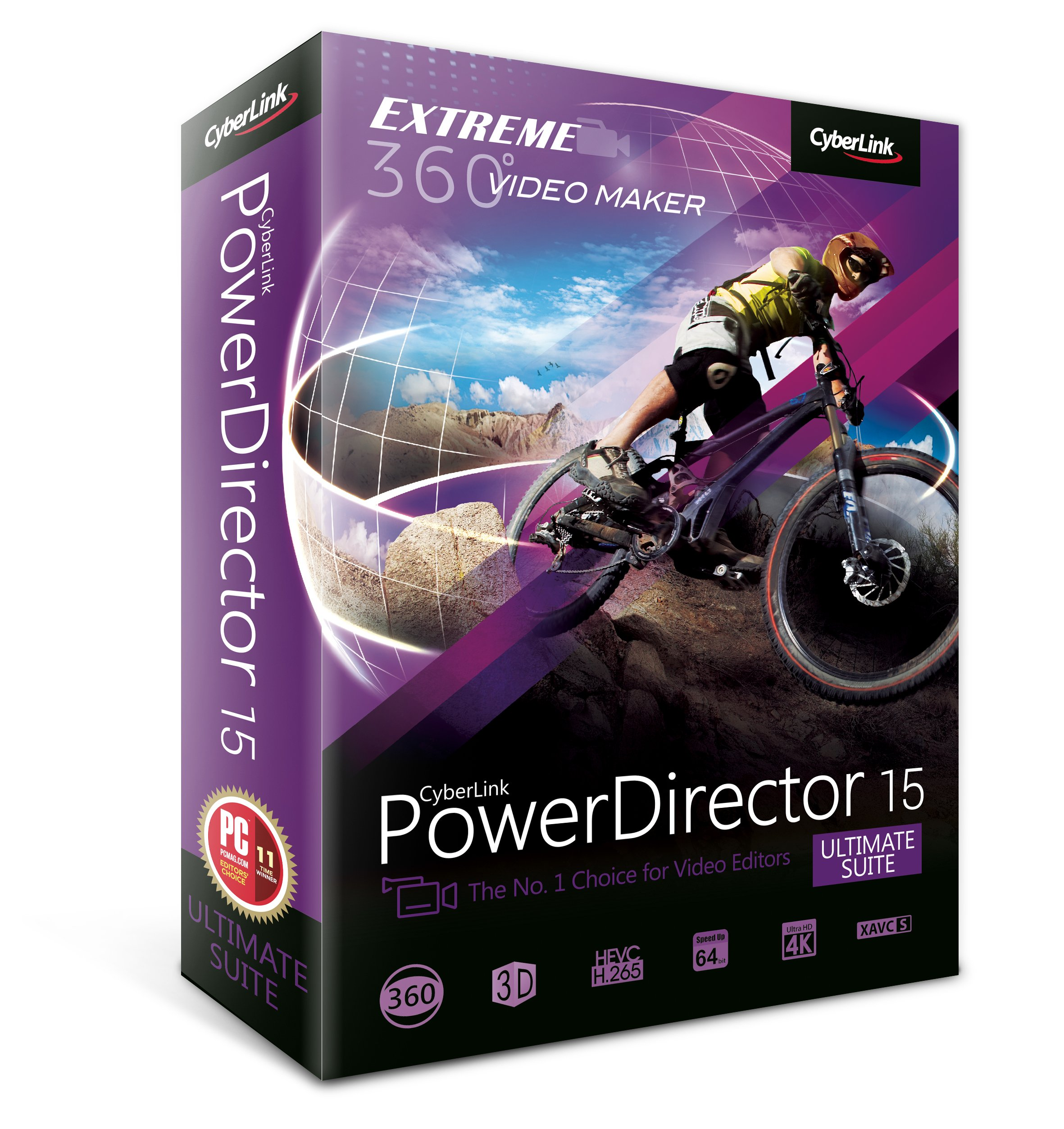 Cyberlink PowerDirector 15 Ultimate Suite by Cyberlink