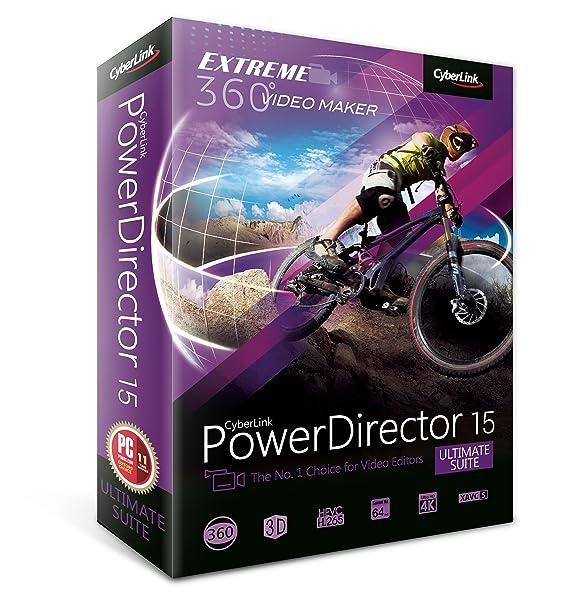 Amazon.com: Cyberlink PowerDirector 15 Ultimate Suite: Software