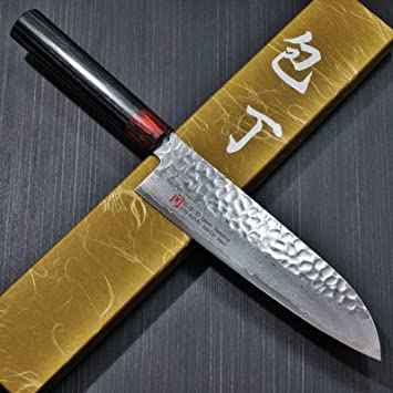 Amazon.com: SETO Japanese Chef Knives: Damascus Forged Steel from ...