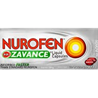 Nurofen Zavance Liquid Capsules Pain Relief 200mg, 21g