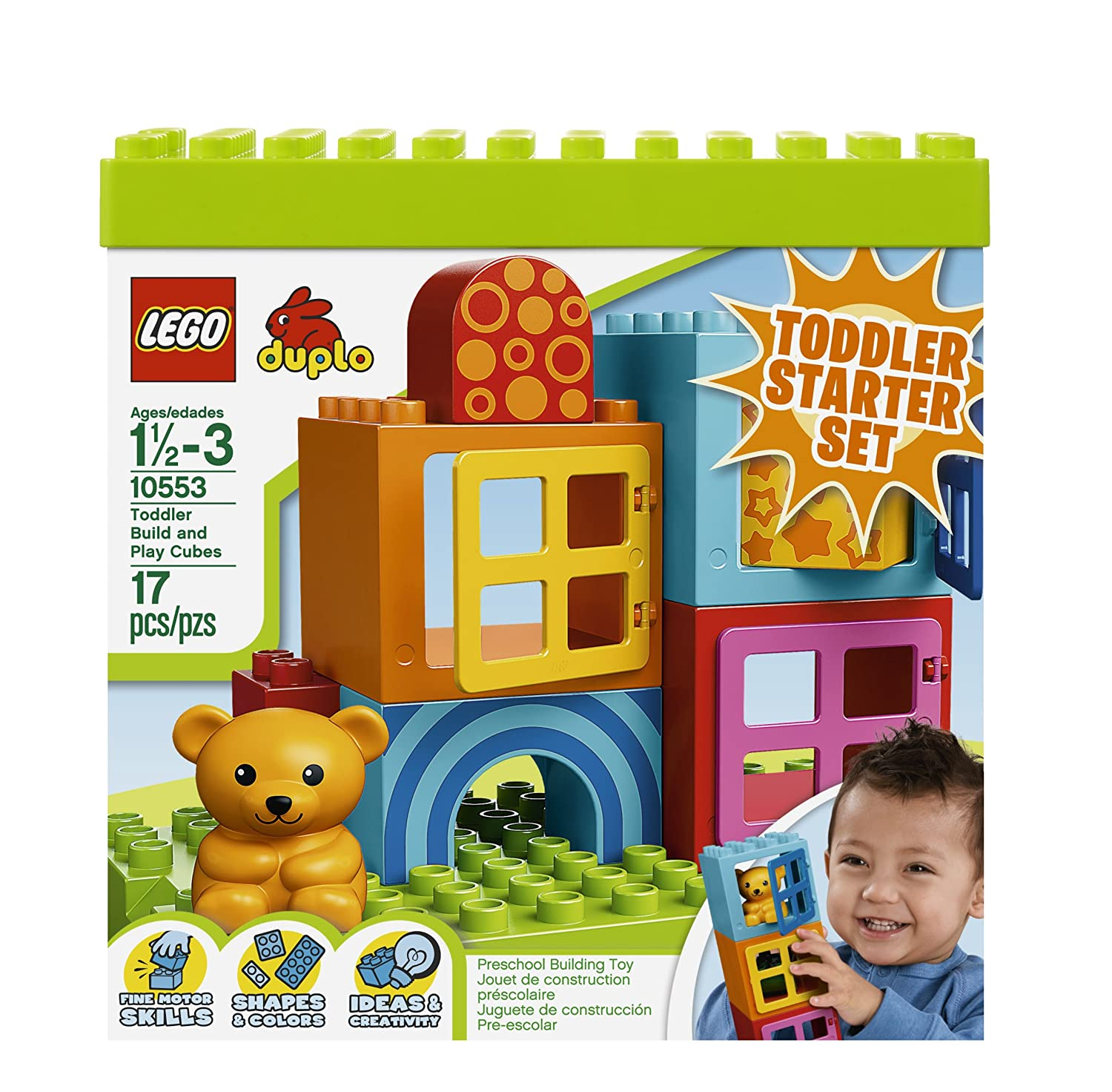 Amazon LEGO DUPLO Toddler Build and Play Cubes Toys