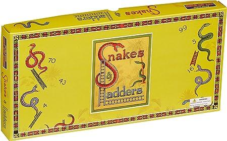 House Of Marbles Serpientes y Escaleras Juegos Retro Tradicional: Amazon.es: Juguetes y juegos