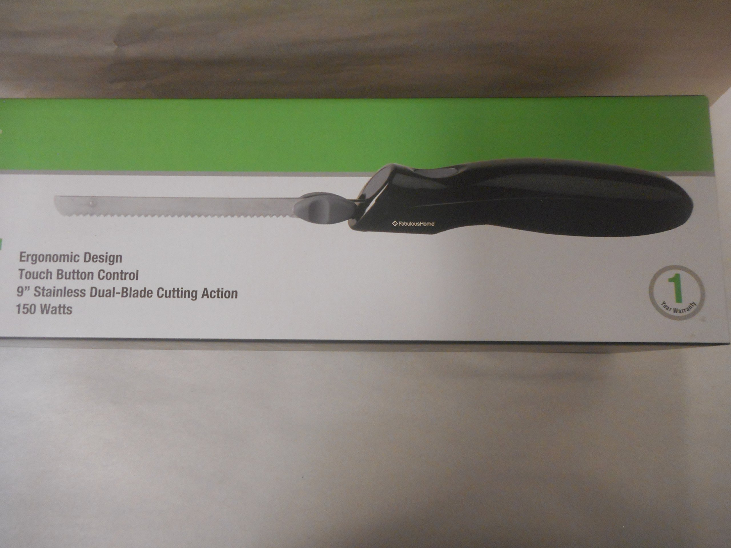 Fabulous Home Black Electric Carving Knife 150 Watts