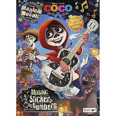 Disney Bendon 44626 Coco Mosaic Sticker Book, Multicolor: Toys & Games