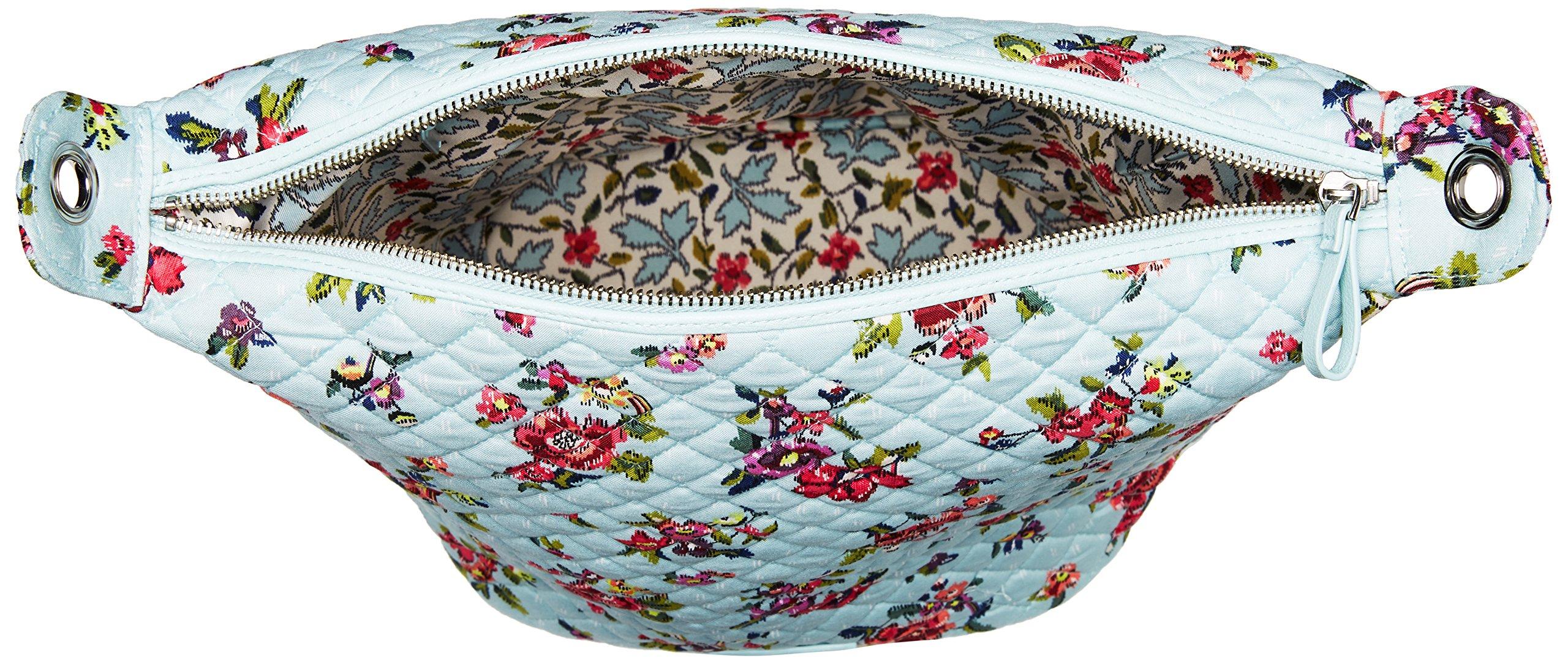 Vera Bradley Carson Hobo Bag, Signature Cotton, Water Bouquet by Vera Bradley (Image #5)