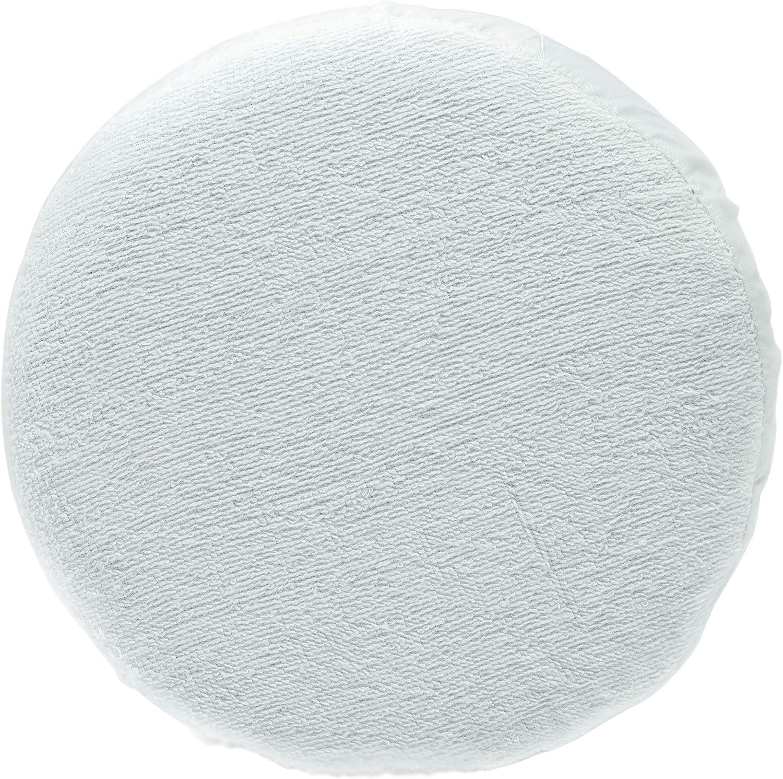 Unviersal Capot de polissage avec bande /élastique pour machine /à polissage de voiture /Ø 25 cm 250 mm blanc