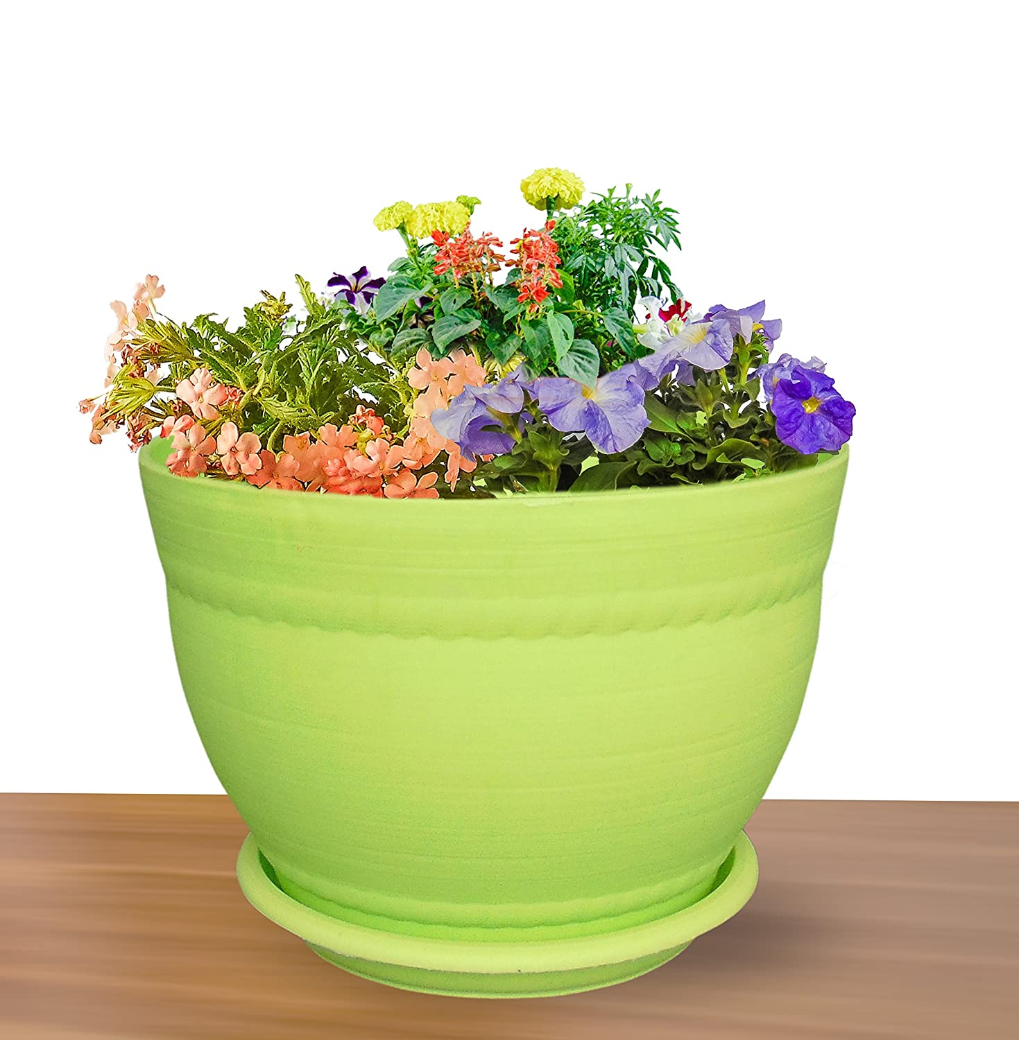 Livewell Green Elegant Indoor Flower Pot Corner Stand 28.5 Inch Tall ...