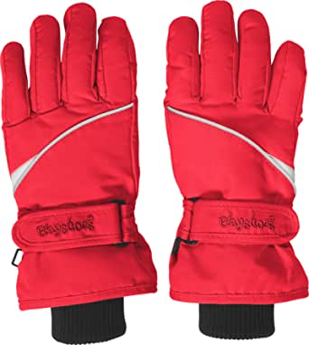 Playshoes Finger-Handschuh Guantes, Rot 8, 4 Unisex Adulto