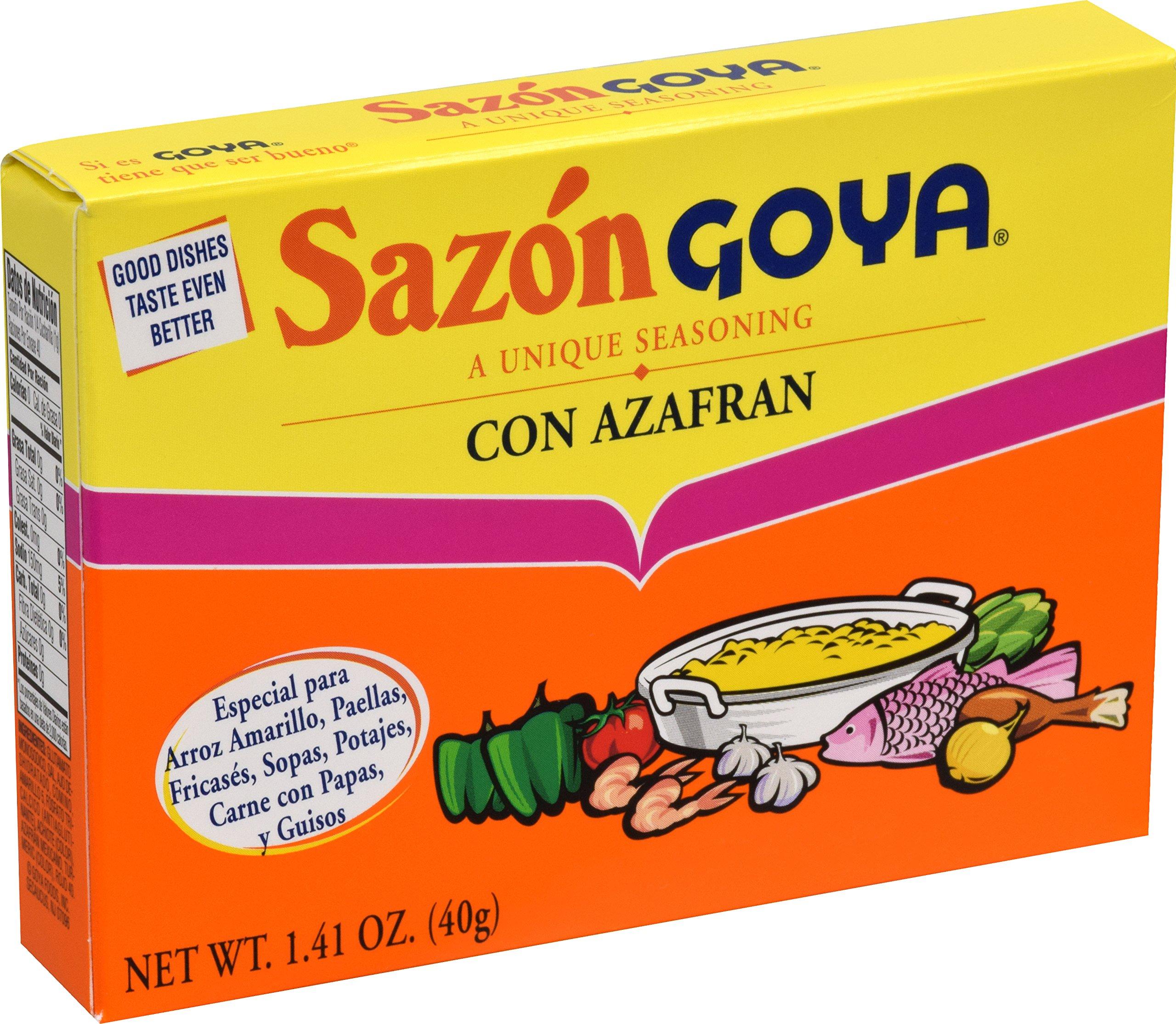 Goya Foods Sazon Azafran Seasoning, 1.41 Ounce by Goya (Image #4)