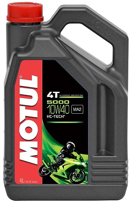 5 opinioni per Motul 5000 10W40-Olio per motocicletta 4T, 4 litri