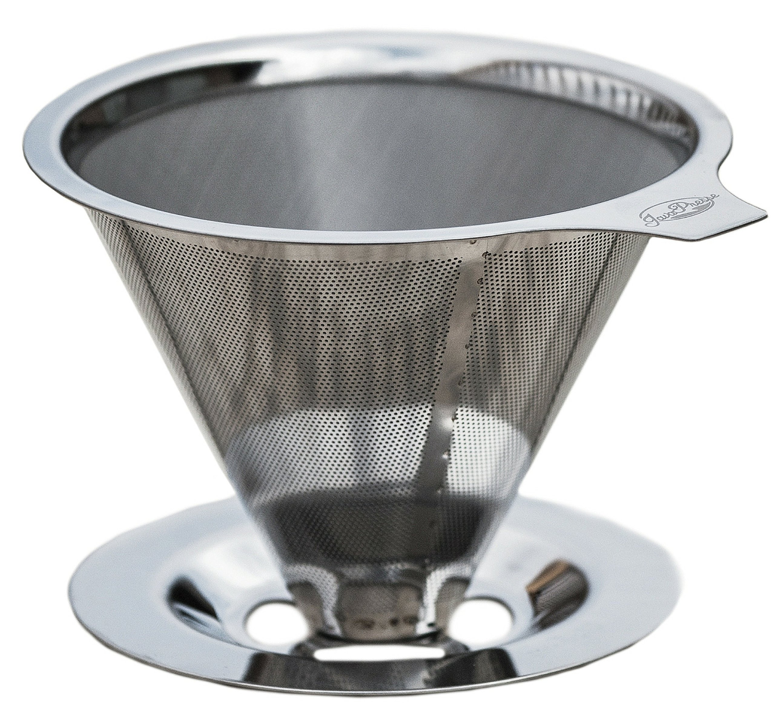 JavaPresse Pour Over Coffee Maker with Stand | Clever Hand Drip Brewer with Reusable Filter Dripper by JavaPresse