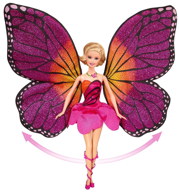 amazon com barbie mariposa and the fairy princess doll toys u0026 games