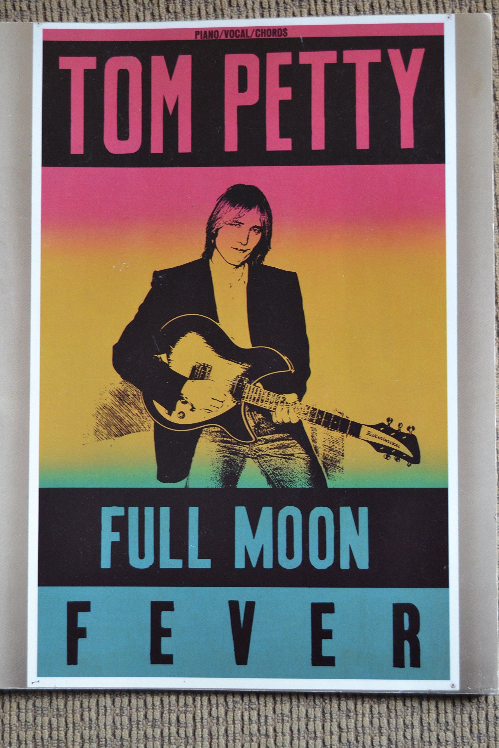 Tom Petty Full Moon Fever Songbook Tom Petty Amazon Books