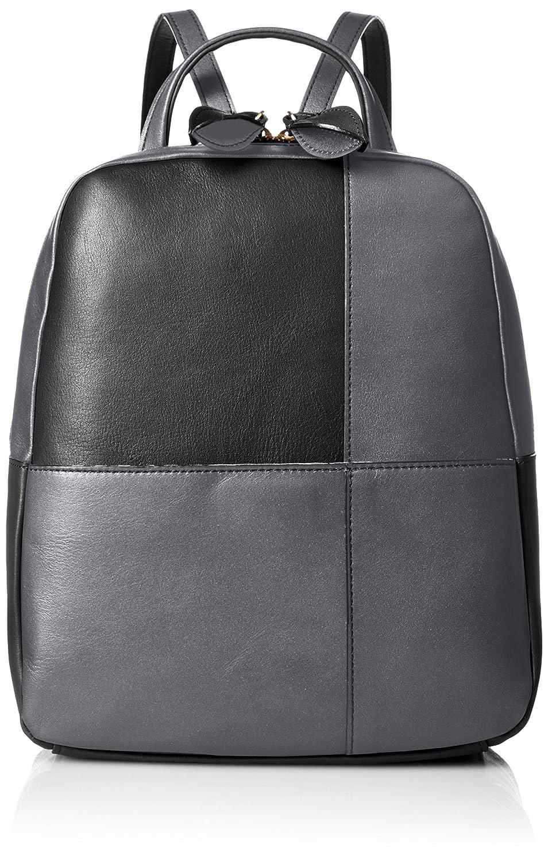 [ルサックアダム]Amazon公式 正規品 リュックサック コレット 411518 B01KNFOF5Mブラック/シルバー
