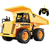 Top Race TR-112 5 Channel Fully Functional RC Dump Truck with Lights and Sound
