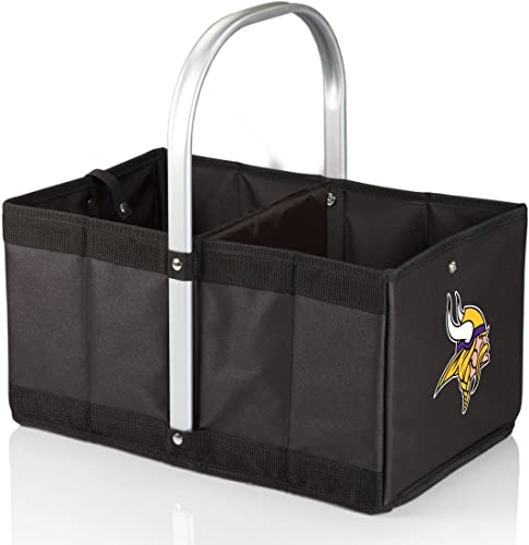 PICNIC TIME NFL Minnesota Vikings Urban Basket, Black