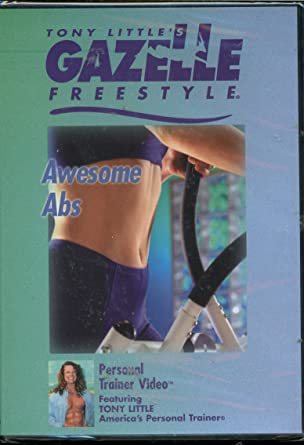 Tony Little Gazelle Awesome ABS Personal Trainer DVD