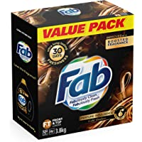Fab Gold Absolute Laundry Powder Detergent, 3.8 Kilograms