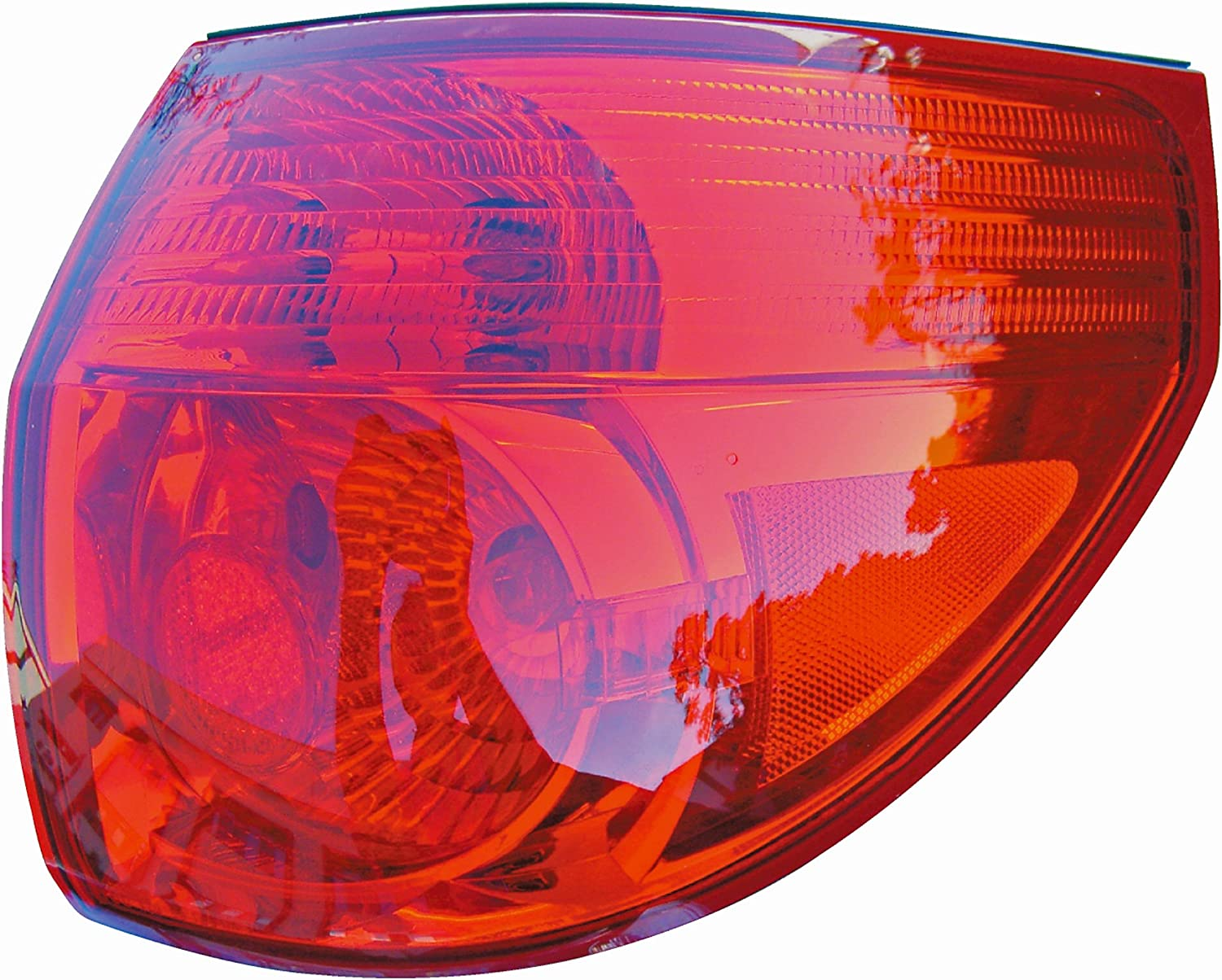 Dorman 1611529 Passenger Side Tail Light Assembly for Select Toyota Models