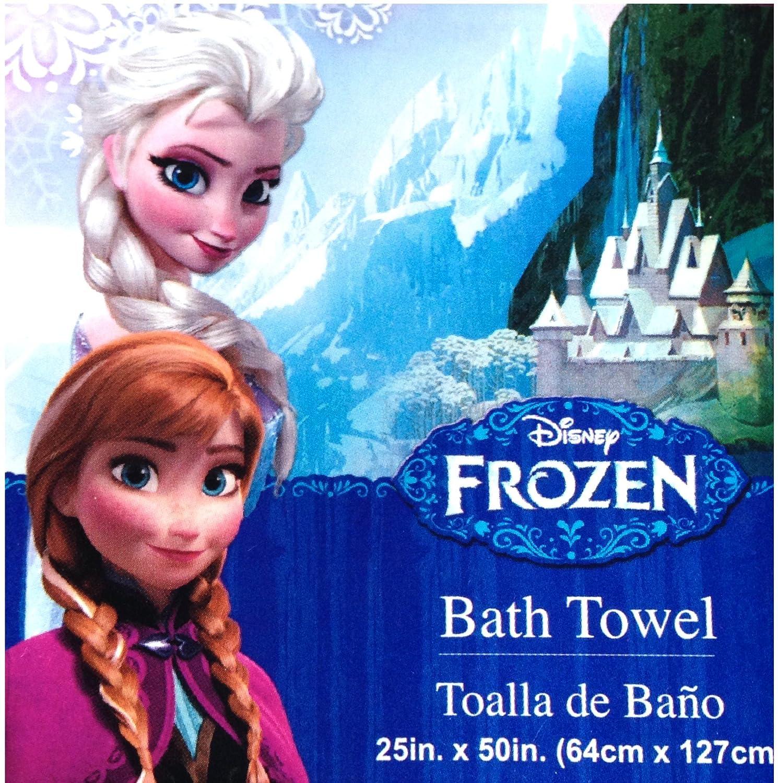 Amazon.com: Disney Frozen Bath Towels Frosted Berry Disney Frozen Bathroom SET Disney Frozen Bubble Bath , Disney Frozen Hand Soap , Disney Frozen ...