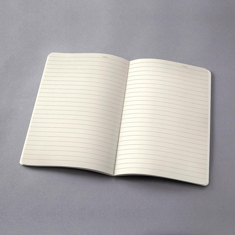 SIGEL CO860 Taccuino-quaderno Conceptum nero circa A4 copertina flessibile 64 pagine a quadretti