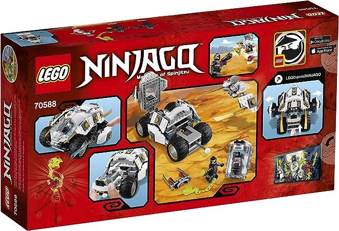 Multi-Coloured LEGO 70588 Ninjago Titanium Ninja Tumbler Building Set