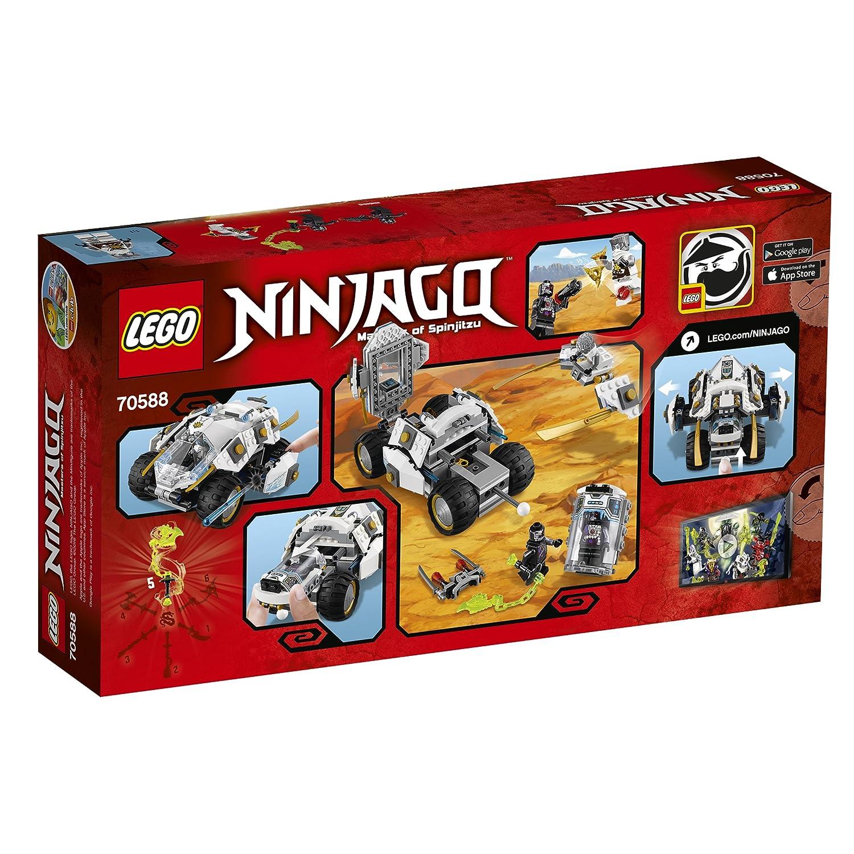 LEGO Ninjago - Tumbler Ninja de Titanio (6144769): Amazon.es ...