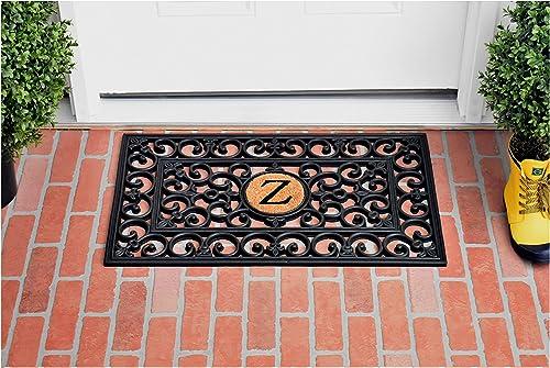 Calloway Mills 150011830Z Rubber Monogram Doormat, 18 x 30 Letter Z