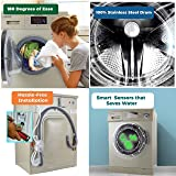 """Equator 2019 24"""" Combo Washer Dryer Ch. Gold"""