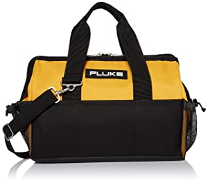 Fluke C550 Rugged Canvas Tool Bag,Black/Yellow,Small