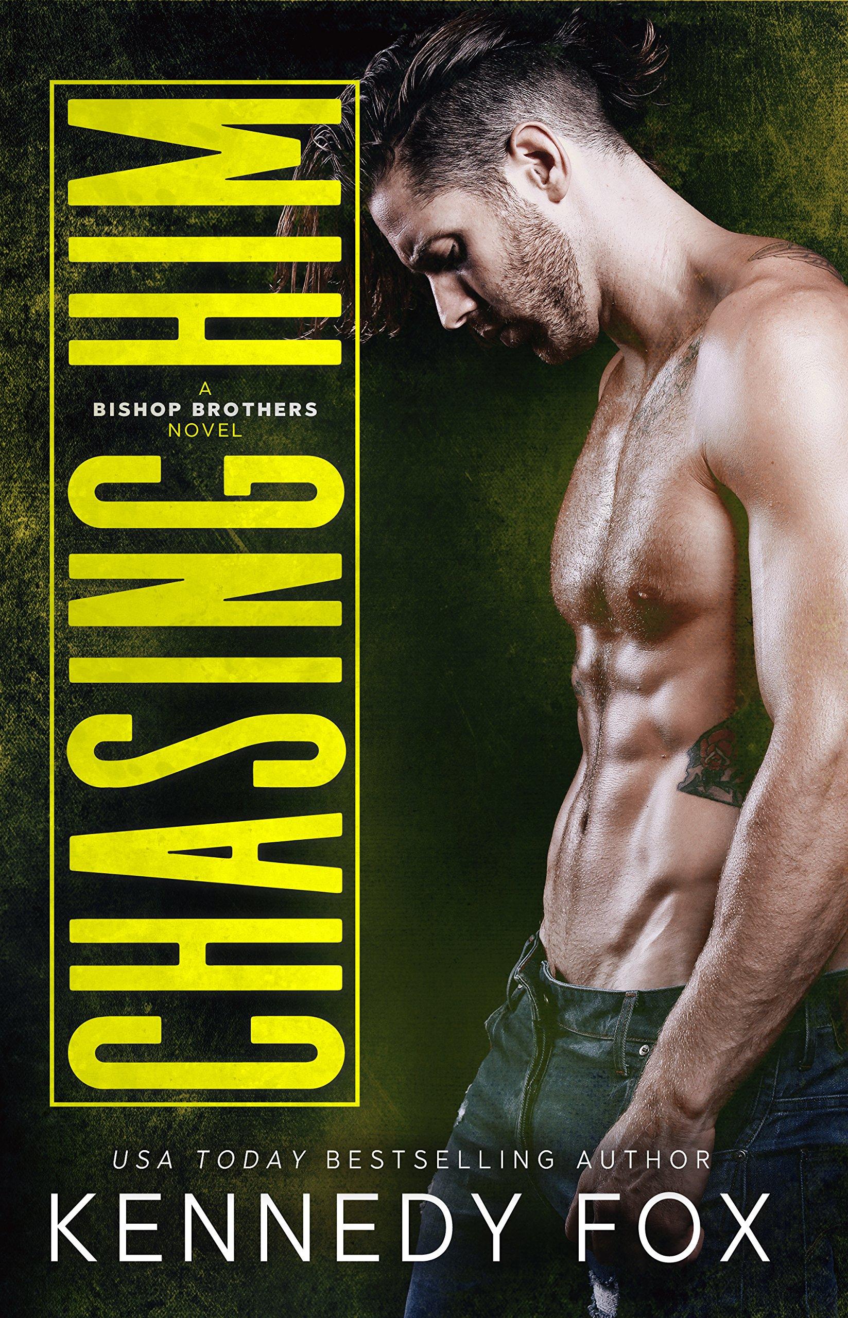 Chasing Him  A Single Dad Romance  Bishop Brothers Book 3   English Edition