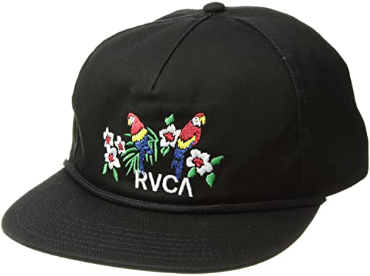 daf835e4d1b8f Amazon.com  RVCA Men s Parrots Unstructured HAT