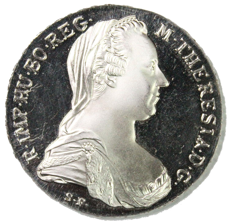 Austria 1780 Silver Maria Theresa Thaler UNC Restrike