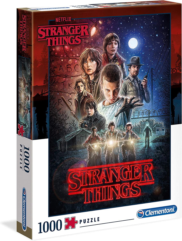Clementoni- Puzzle 1000 Piezas Strange Things (39542.2): Amazon.es: Juguetes y juegos