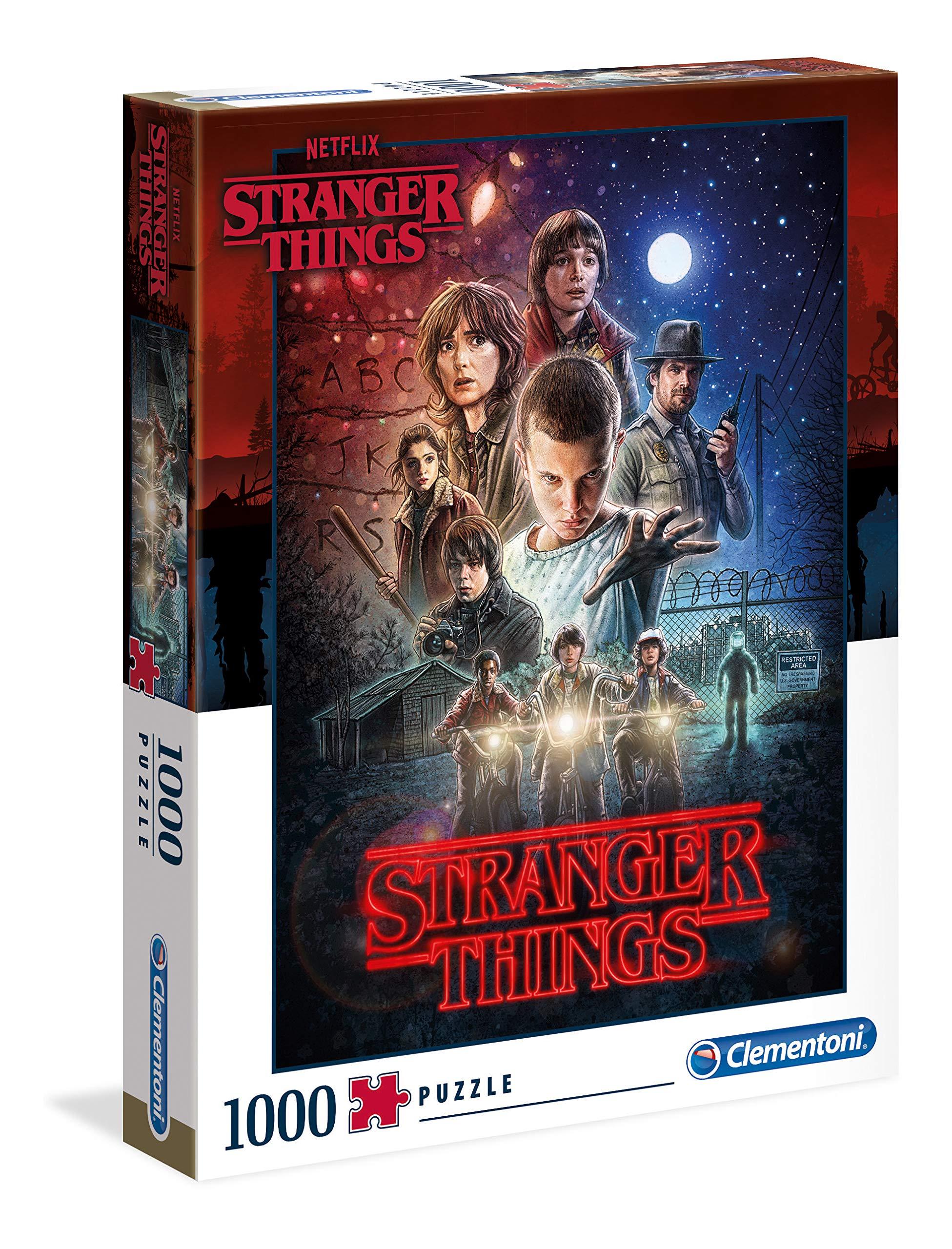 Clementoni 39542 Stranger Things Things-1000pc Puzzle 1