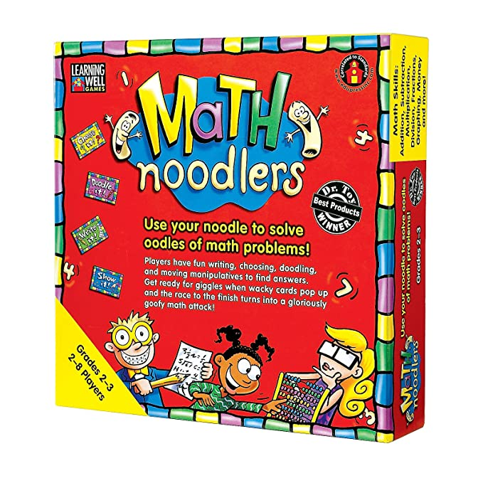 Edupress Math Noodlers Game, Grades 2-3 (EP62350)