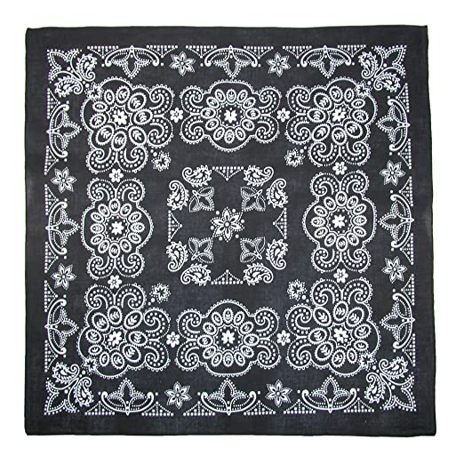 Amazon.com  CTM 27 Inch Extra Large Cotton Texas Paisley Bandana ... cbc7eb34cdc