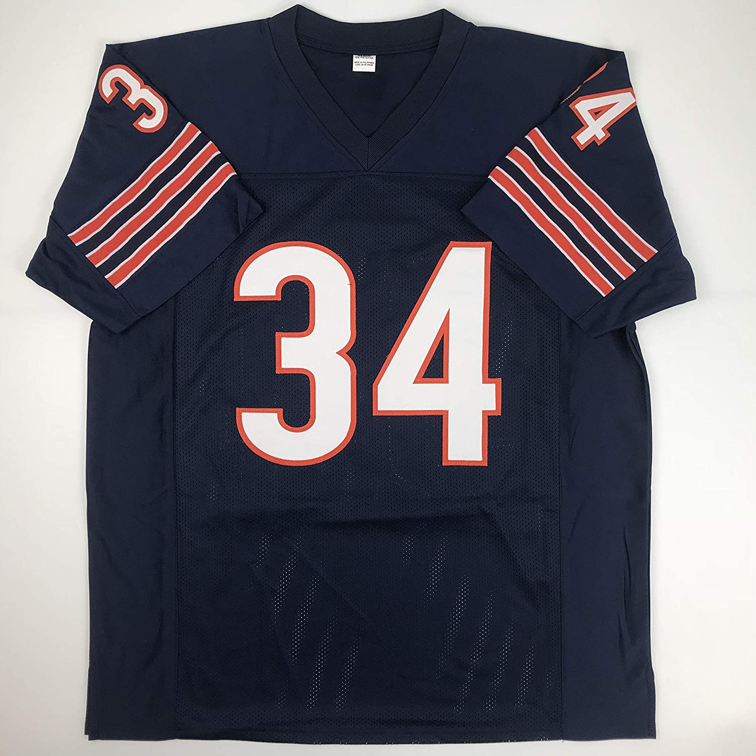 54d6eb5c844 Amazon.com: Unsigned Walter Payton Chicago Blue Custom Stitched Football  Jersey Size XL New No Brands/Logos: Sports Collectibles