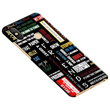 online store 3fec5 d3bb1 Gosmartkart Redmi Note 5 Pro Friends Printed Back Cover: Amazon.in ...