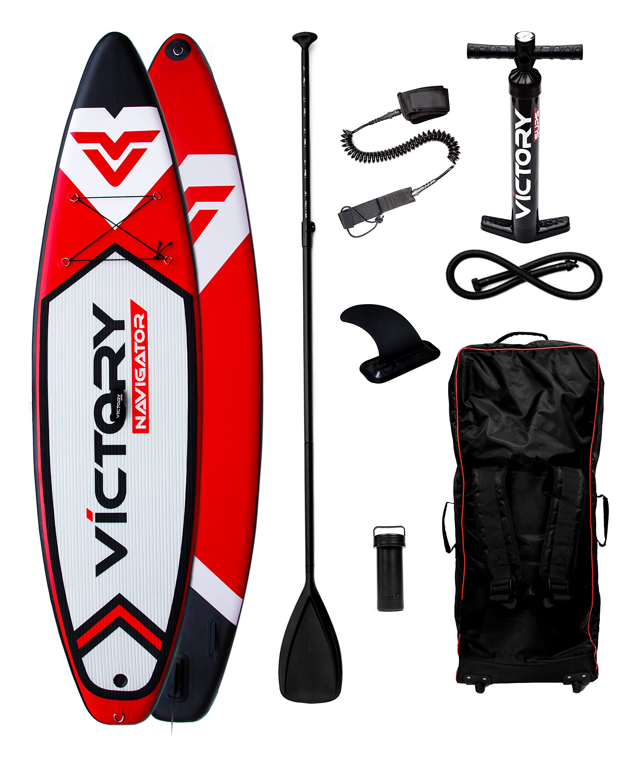 Victory Navigator 10´6'' Inflatable Stand Up Paddleboard Set - 6'' Thick - Full package - 2 Year Warranty by Victory