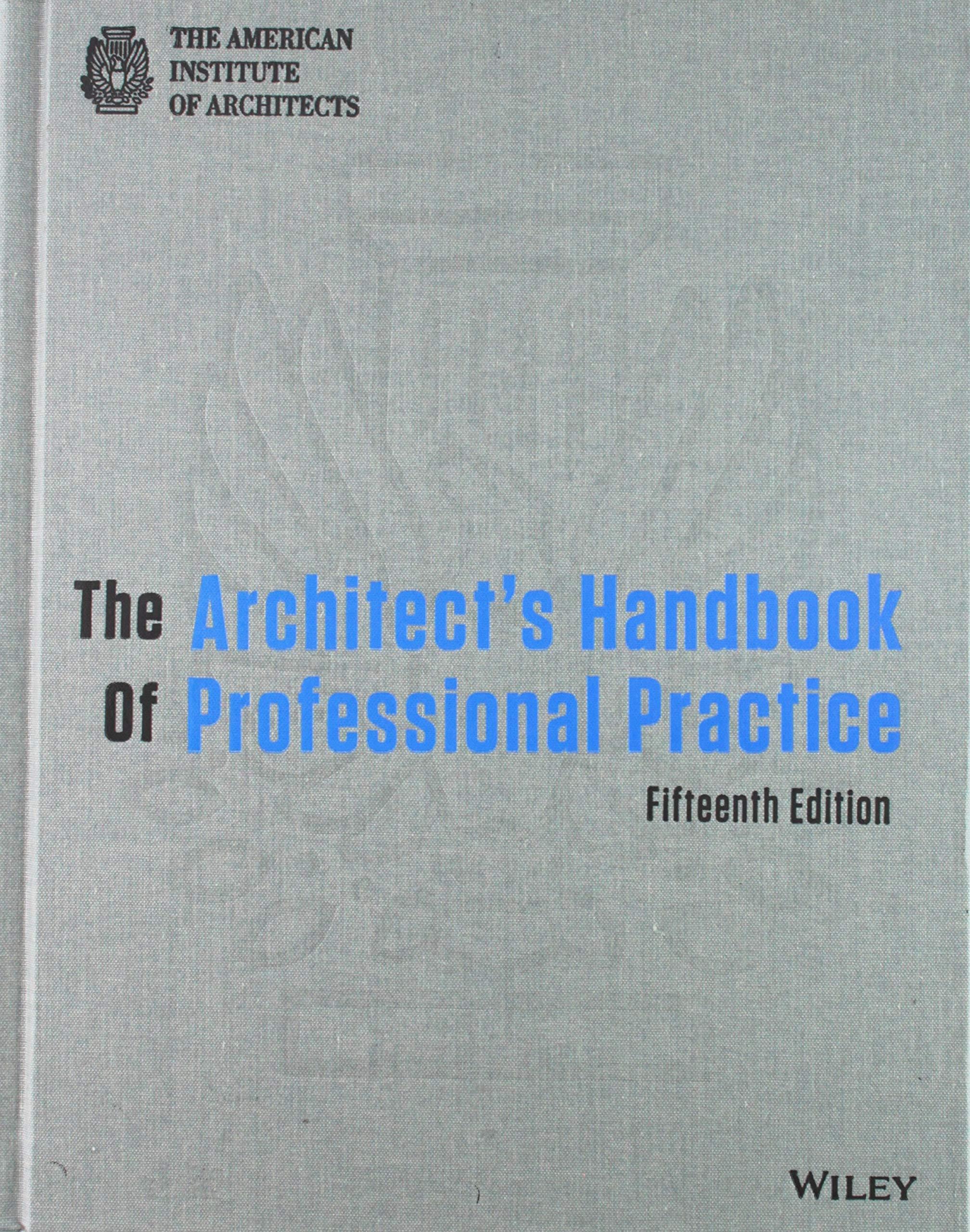 The Architect's Handbook of Professional Practice: Amazon co