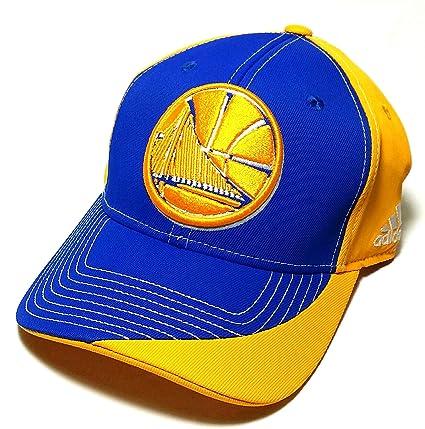 6a7e2e94ae2 Amazon.com   Golden State Warriors ST NBA Adidas Blue Gold Team ...
