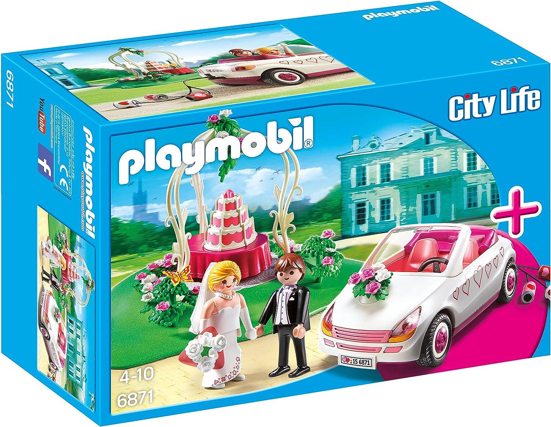 Playmobil StarterSet - City Life Fiesta de Boda Playsets de Figuras de jugete, Color Multicolor (Playmobil 6871)